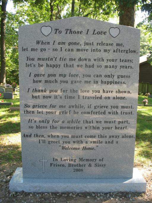 Home - Memory Park Pet Cemetery